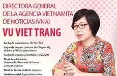 Nombrada Vu Viet Trang directora general de la Agencia Vietnamita de Noticias