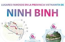 Lugares famosos en la provincia vietnamita de Ninh Binh
