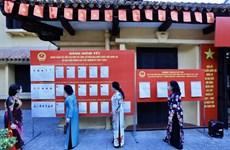 Primeras imágenes de elecciones legislativas en Vietnam