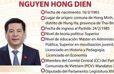 Nguyen Hong Dien, ministro de Industria y Comercio de Vietnam