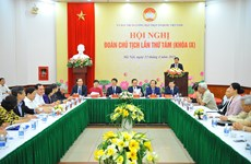 Debate Frente de la Patria de Vietnam perfeccionamiento del personal