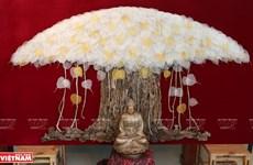 Cuadro de hojas de Bodhi