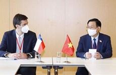 Presidente del Parlamento vietnamita sostiene reuniones bilaterales en WCSP5