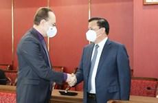 Hanoi prioriza cooperación con localidades rusas