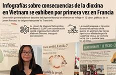 Infografías sobre consecuencias de la dioxina  en Vietnam se exhiben por primera vez en Francia