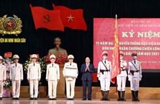 Enaltecen aportes de Academia de Seguridad Popular de Vietnam a defensa nacional