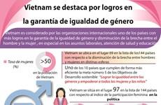 [Info] Vietnam se destaca por avance en garantía de igualdad de género