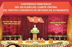 Amplia agenda del XIII pleno del Comité Central del Partido Comunista de Vietnam