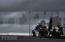 Primeras imágenes del noveno tifón Molave en Vietnam