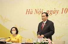 Anuncian listado de diputados del Parlamento de Vietnam