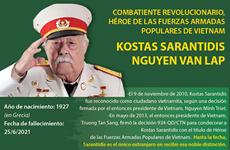 Kostas Sarantidis, Héroe de las Fuerzas Armadas Populares de Vietnam