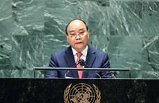 Discurso del presidente de Vietnam en debate general de 76 sesión de Asamblea General de ONU