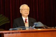 Inauguran XV pleno del Comité Central del Partido Comunista de Vietnam