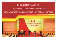 XII Congreso Nacional del Partido: Fortalecimiento y transparentación de filas partidistas