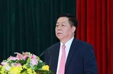 Designan nuevo jefe de Comisión de Propaganda y Educación del Partido Comunista de Vietnam
