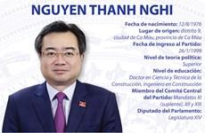 Nguyen Thanh Nghi, nuevo ministro de Construcción de Vietnam