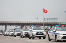Policía de tránsito de Vietnam inicia campaña de seguridad de cara a importantes efemérides
