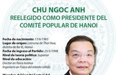 Chu Ngoc Anh reelegido como presidente del gobierno de Hanoi