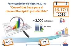 [Info] Foro económico de Vietnam 2019 en Hanoi