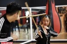 [Fotos] Arnis, arte marcial de lucha con palos