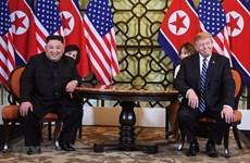 [Fotos] Imágenes de reunión privada entre Trump y Kim Jong-un en Cumbre EE.UU.-RPDC