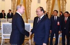 [Fotos] Premier vietnamita Nguyen Xuan Phuc se reúne con el presidente ruso Vladimir Putin