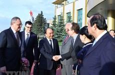 [Fotos] Concluye primer ministro Nguyen Xuan Phuc su visita oficial a Rusia