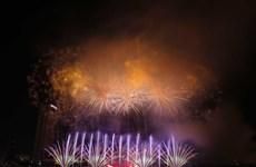 [Fotos] Festival Internacional de Fuegos Artificiales en Da Nang