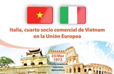 [Info] Italia, cuarto socio comercial de Vietnam en la Unión Europea
