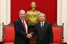 [Foto] Visita Vietnam delegación del Partido del Trabajo de México