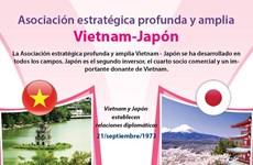 [Info] Asociación estratégica profunda y amplia Vietnam-Japón
