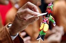 [Foto] Artes de elaborar juguetes de harina de arroz To He