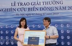 VNA obtuvo premios periodísticos de estudios sobre el Mar del Este en 2018