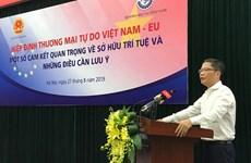 Empresas vietnamitas deben respetar propiedad intelectual y aprovechar EVFTA