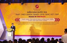 'Make in Vietnam' ayudará a Vietnam a prosperar y lograr una paz duradera