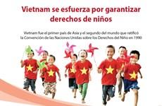 [Info] Vietnam se esfuerza por garantizar derechos de niños