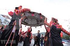 [Foto] Fiesta de juego folclórico entre Vietnam, Laos y China en Lai Chau