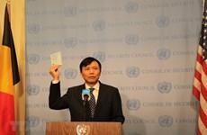 [Foto] Vietnam asume el cargo del miembro no permanente del Consejo de Seguridad de la ONU