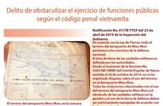 [Info] Delito de obstaculizar el ejercicio de funciones públicas según el código penal vietnamita