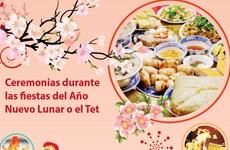 [Info] Ceremonias durante las fiestas del Año Nuevo Lunar o el Tet