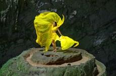 [Foto] Miss vietnamita H´Hen Nie en la gruta más grande del mundo Son Doong