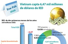 [Info] Vietnam capta 6,47 mil millones de dólares de IED