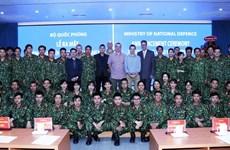 [Foto] Asignan misiones para hospital de campaña de segundo nivel en Vietnam