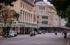 [Foto] Calles de Hanoi están vacías tras registrar los primeros casos contagiados del nuevo coronavirus