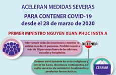[Info] ACELERAN MEDIDAS SEVERAS PARA CONTENER COVID-19