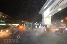 [Foto] Desinfectan Hospital de Bach Mai tras registrar casos del COVID-19