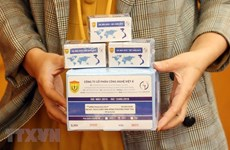 [Foto] Certifican OMS y Reino Unido kit de prueba COVID-19 de Vietnam