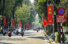 [Foto] Calles de Hanoi en las fiestas del 45 aniversario de la reunificación nacional