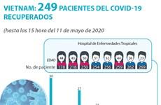 [Info] Vietnam: 249 pacientes del COVID-19 recuperados