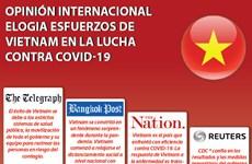[Info] Opinión internacional elogia esfuerzos de Vietnam en la lucha contra COVID-19